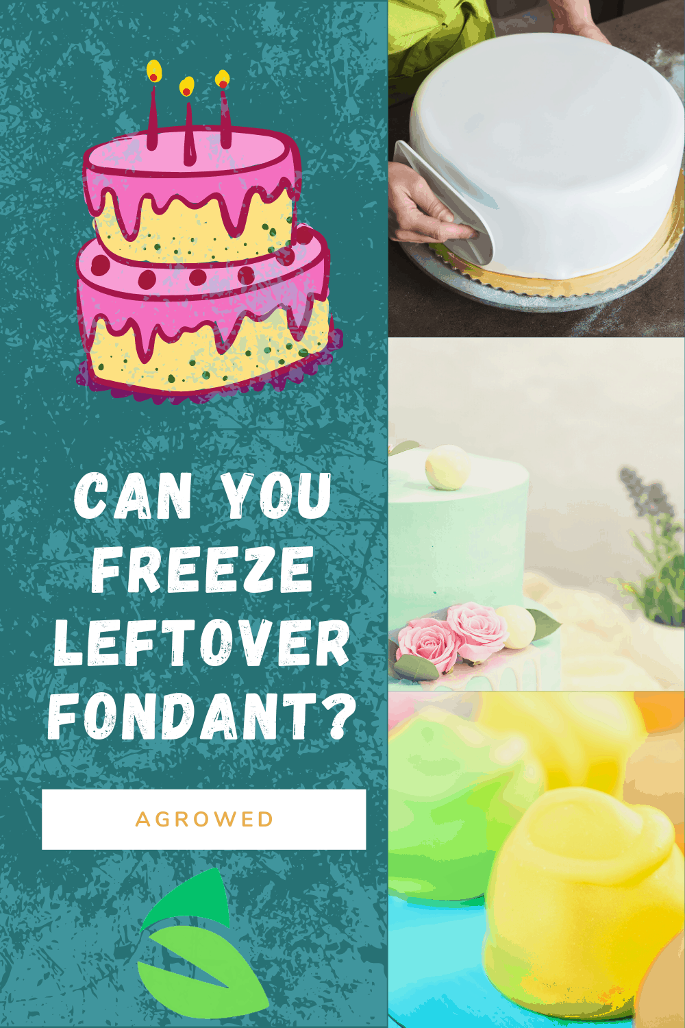 Can You Freeze Leftover Fondant
