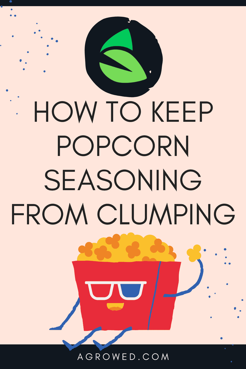 How to Keep Popcorn Seasoning From Clumping