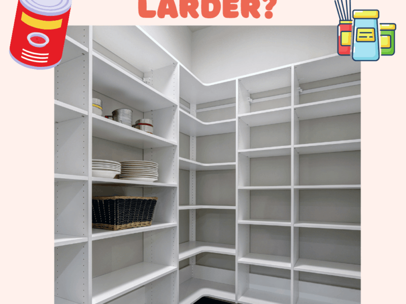 What Is the Difference Between a Pantry and A Larder